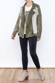 Paper Crane The Moto Jacket - Front full body