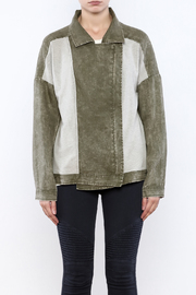 Paper Crane The Moto Jacket - Side cropped