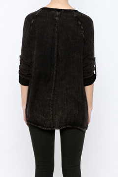 Shoptiques Product: Thermal Lace Up Top