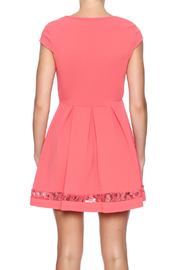 Paper Dolls Textured Dress - Back cropped