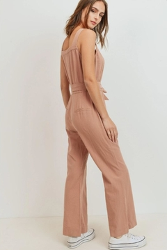 Paper Crane 70's Tie-Waist Jumpsuit - Alternate List Image