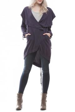 Shoptiques Product: Asymmetric Navy Jacket