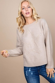 Paper Crane Big Star Sweater - Front cropped