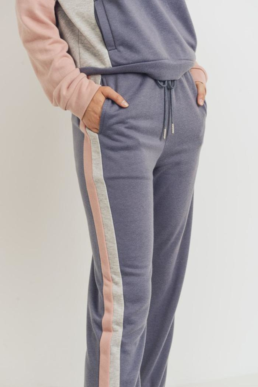 Paper Crane Color Block Jogger - Side Cropped Image