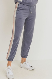 Paper Crane Color Block Jogger - Front full body