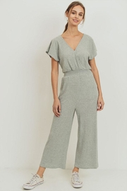 Paper Crane Double V-Neck Jumpsuit - Product Mini Image