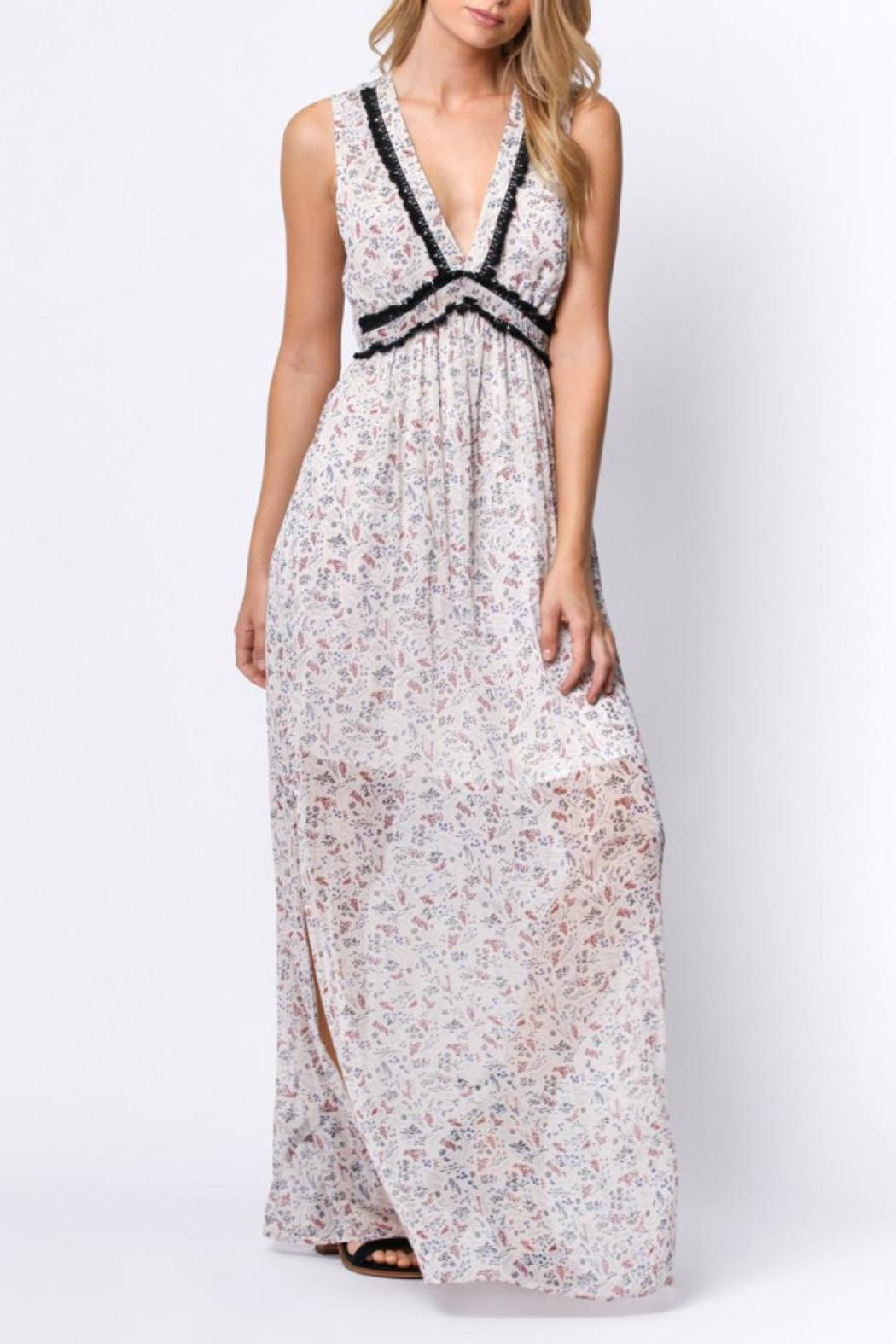 Paper Crane Floral Maxi Dress From Virginia By Modampsoul