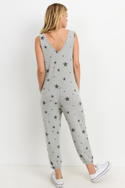 Paper Crane Star Print Jumpsuit - Back cropped