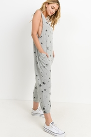 Paper Crane Star Print Jumpsuit - Side cropped