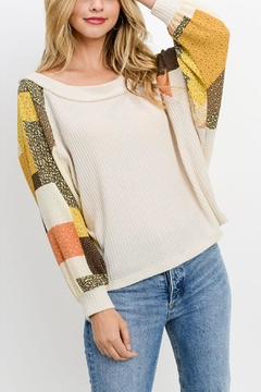 Paper Crane Waffle Raglan Top - Product List Image