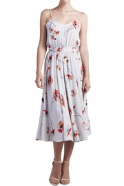 Paper Crown Floral Midi Dress - Product Mini Image