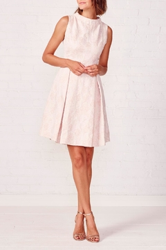 Paper Crown Pineapple Fit And Flare Dress - Alternate List Image