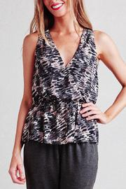 Paper Crown Toni Raindrop Top - Front cropped