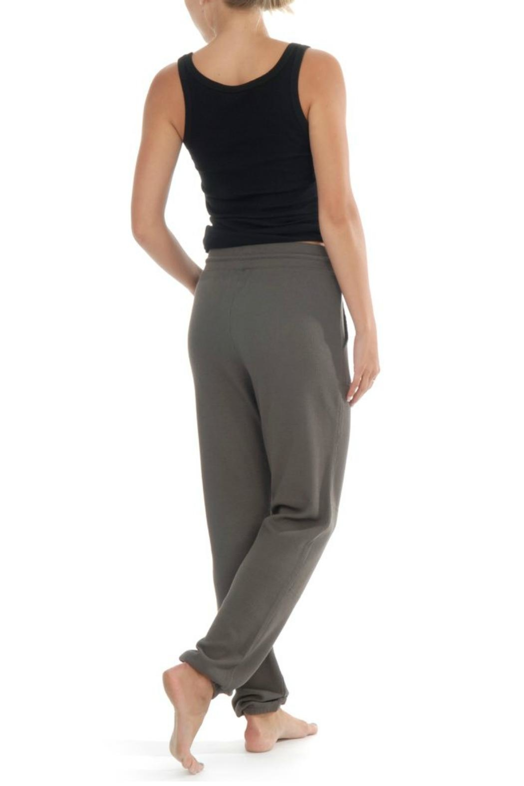 Paper Label Cara Waffle Sweatpant - Front Full Image