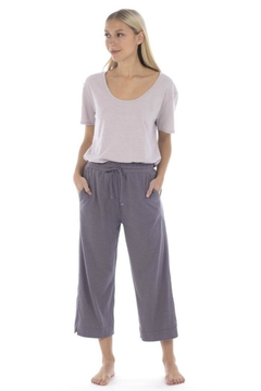 Paper Label Hemp Crop Pant - Alternate List Image