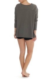 Paper Label Isla Waffle Top - Front full body