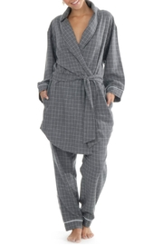 Paper Label Marlowe Flannet Robe - Product Mini Image