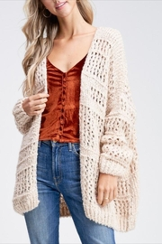 Paper Moon Classic Loose-Knit Cardigan - Product Mini Image