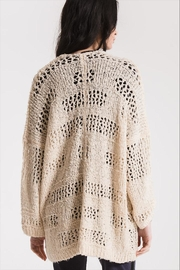 Paper Moon Classic Loose-Knit Cardigan - Side cropped