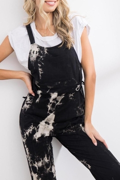 Shoptiques Product: Walk This Way Tie Dye Overalls