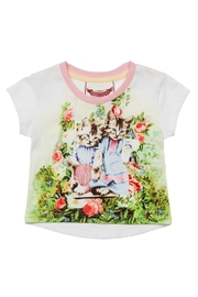 Paper Wings Kitty Tee - Front cropped