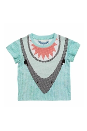 Paper Wings Shark Dive Tee - Front cropped
