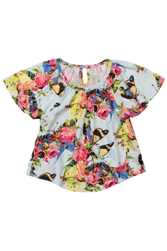 Shoptiques Product: Smock Tee - Butterflies