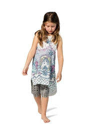 Paper Wings Tattoo Dress - Front cropped