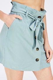 HYFVE Paperbag Button Skirt - Side cropped