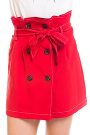 Do & Be Paperbag Button Skirt - Product Mini Image
