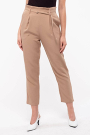 blu Pepper  Paperbag D-Ring Pants - Front cropped