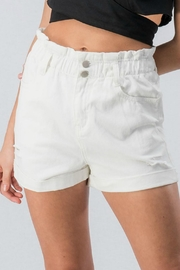 Pretty Little Things Paperbag Denim Shorts - Product Mini Image
