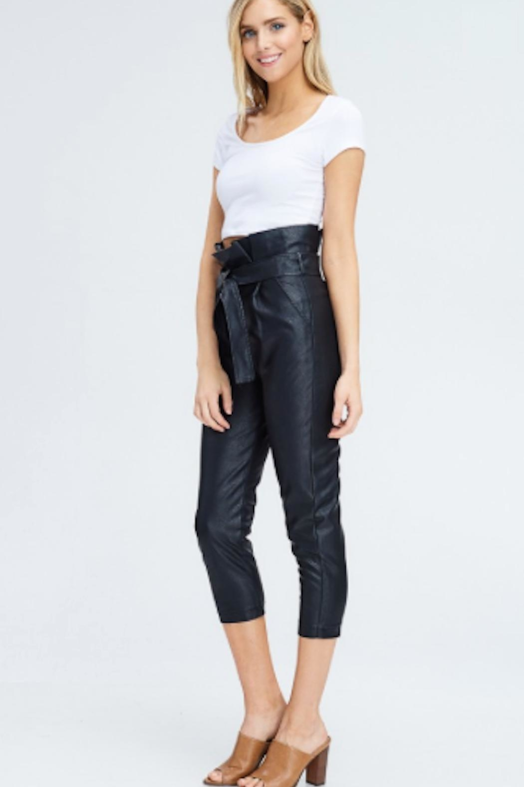 TIMELESS Paperbag Pants - Side Cropped Image