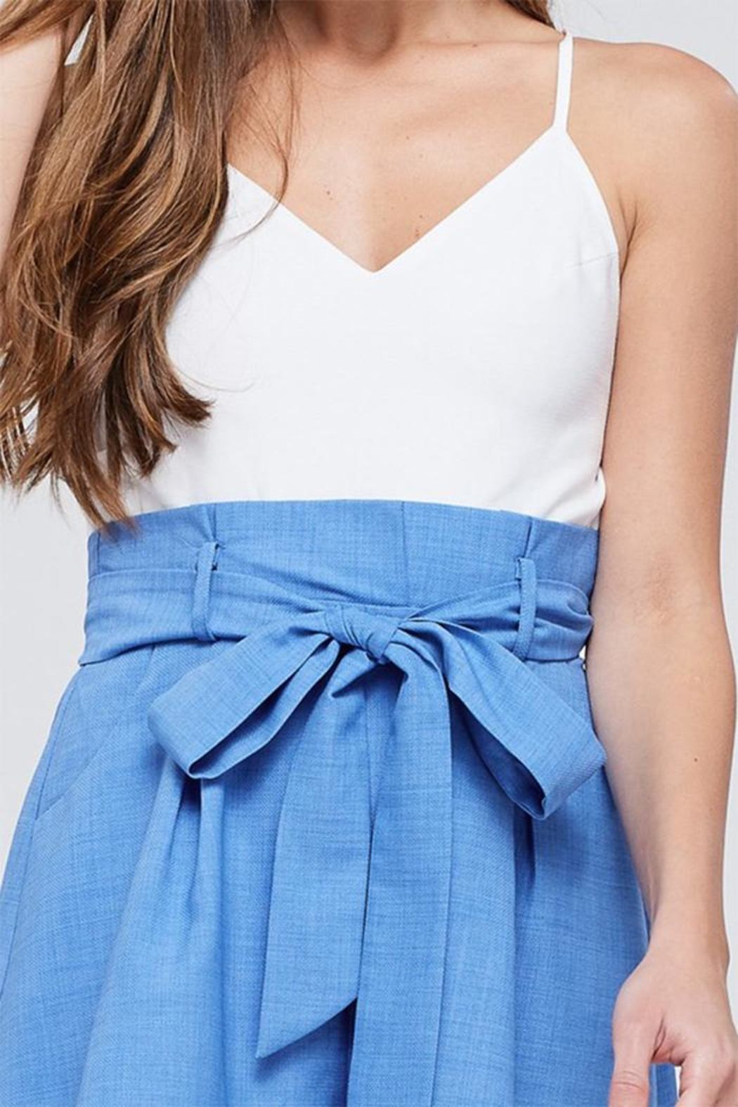 The Clothing Co Paperbag Romper - Side Cropped Image
