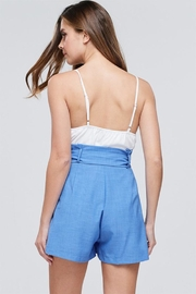 The Clothing Co Paperbag Romper - Front full body