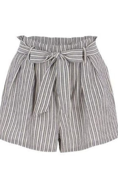 Bishop + Young Paperbag Stripe Short - Alternate List Image