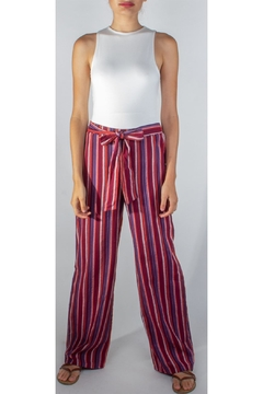 Miss Love Paperbag Striped Pants - Product List Image