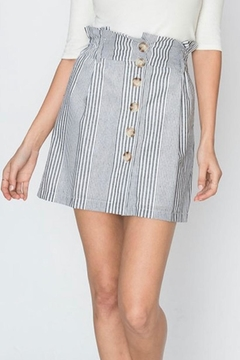 Shoptiques Product: Paperbag Striped Skirt