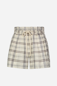 ECRU-DESIGN Paperbag Waist Plaid Short - Product List Image