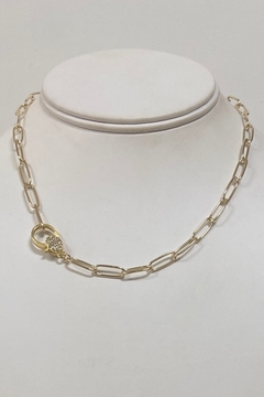 Kailani Paperclip Necklace 16