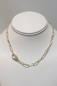 Kailani Paperclip Necklace 18