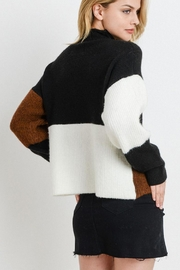 Papercrane Color Block Sweater - Front full body