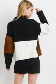Papercrane Color Block Sweater - Side cropped