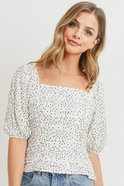 Papercrane Ruffle Polka Dot Blouse - Product Mini Image