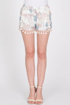 Shoptiques Product: Tassel Leaf Shorts