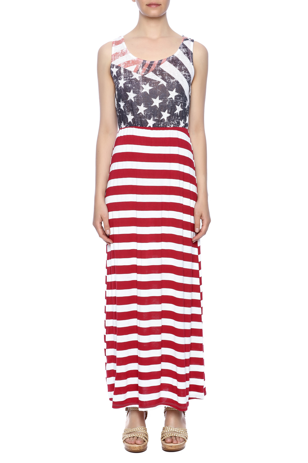 Papermoon Flag Maxi Dress from Indiana by Lynn's Boutique ...