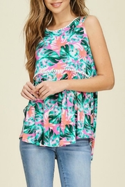 Papermoon Forever Palm Tank - Front cropped