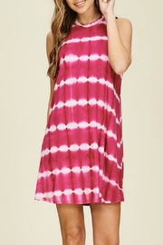 Papermoon Remi Fuchsia Dress - Front cropped