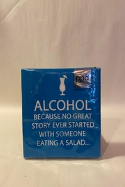 Paperproducts Design Alcohol Joke Napkin - Front cropped