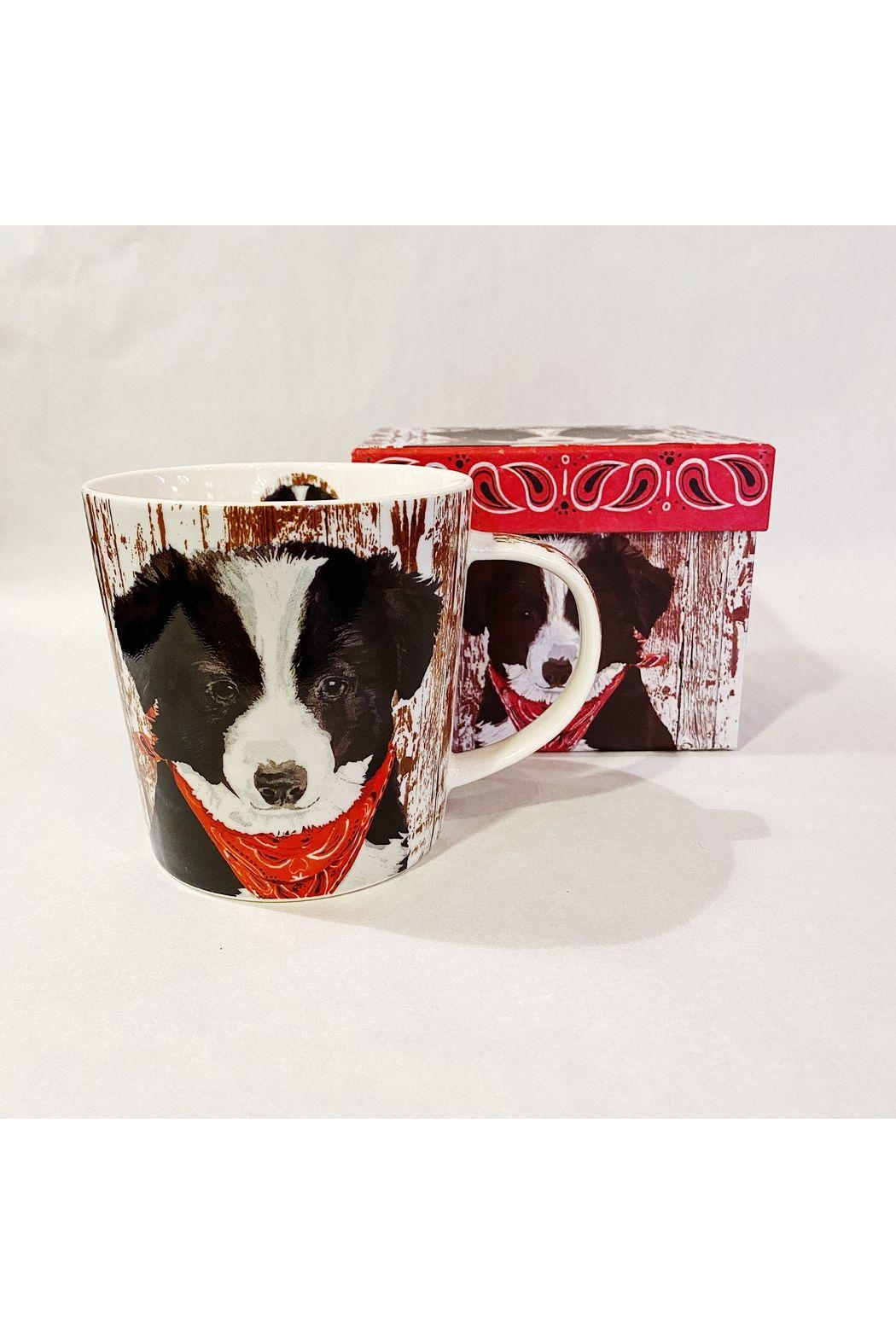 Paperproducts Design Bandana Pup - Mug In a Gift Box - Front Cropped Image